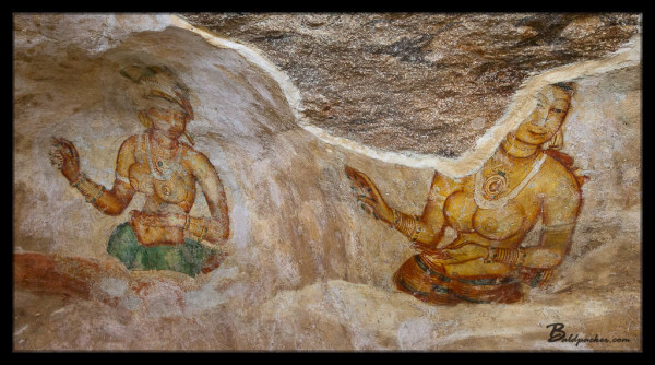Old Paintings on Sigiriya