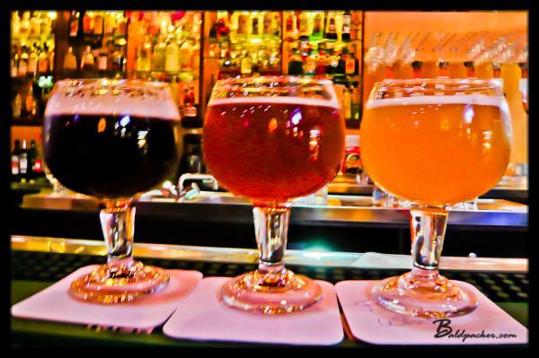 Colourful Belgian Beers