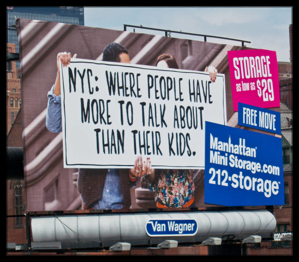 Great Advertisement for NYC