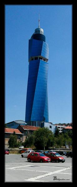 Sarajevo's Twisted Tower