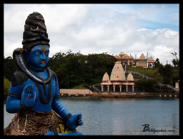 Lord Shiva and Grand Bassin Temple