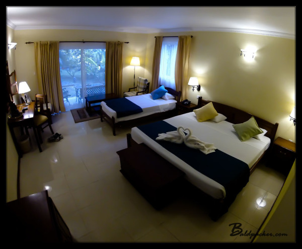 My Room at Hibiscus Beach Resort