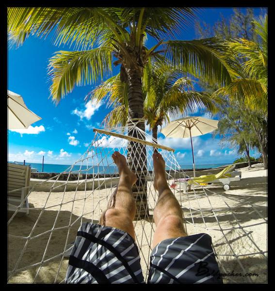 Relaxing at Hibiscus Beach Resort Pereybere