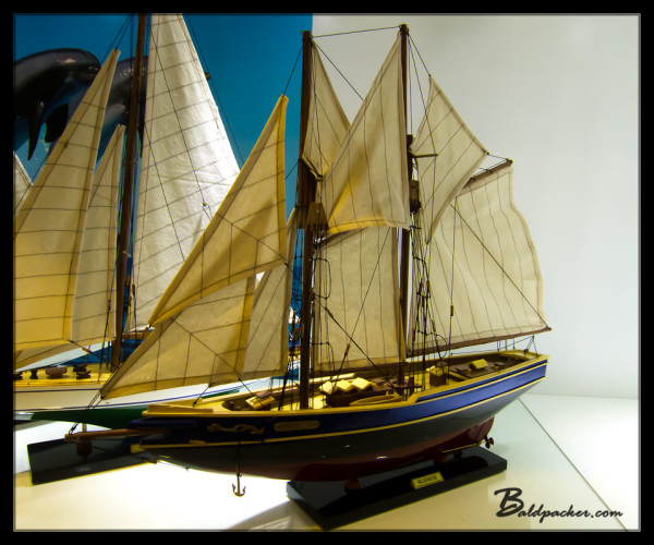 Canadian Bluenose Model