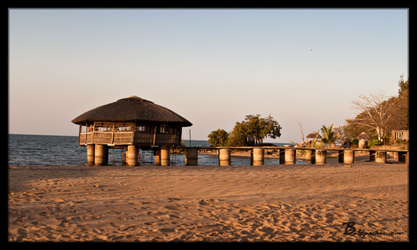 The Wheelhouse Bar on Lake Malawi