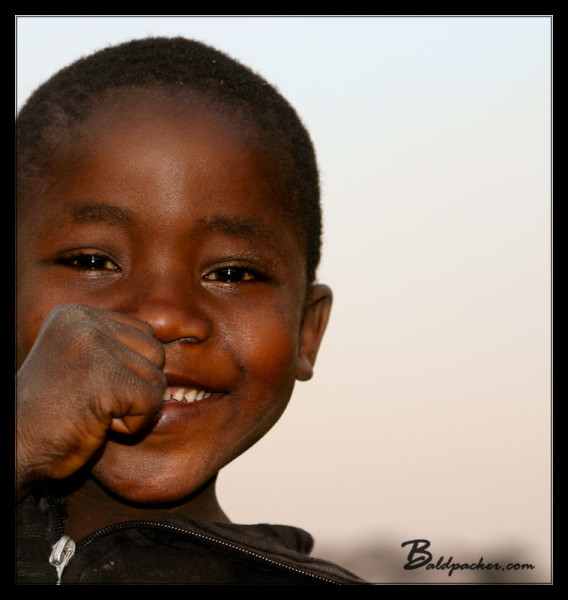 Cute Malawian Kid