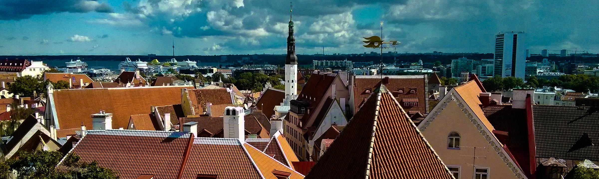 Estonia: Two Tourists in Tallinn
