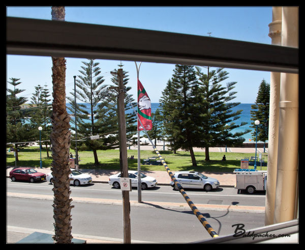 View of Coogee Beach from Kara & Jeremy's