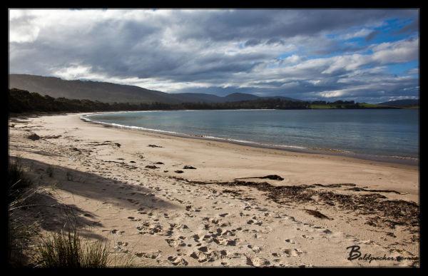 Beach near Dog Bark Road, Port Arthur, Tasmania
