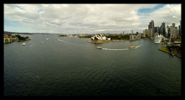 Views from Sydney Harbour Bridge