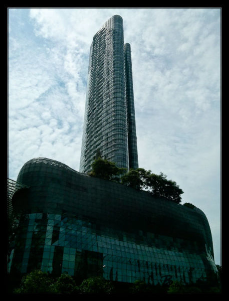 Building on Orchard Road Singapore
