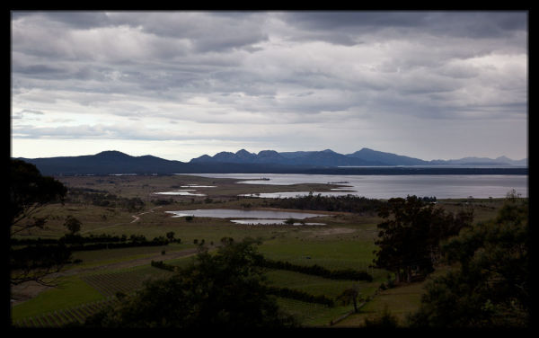 Views on the Drive from Swansea to Freycinet National Park