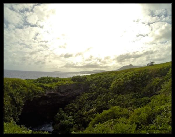 Blue Grotto, Saipan