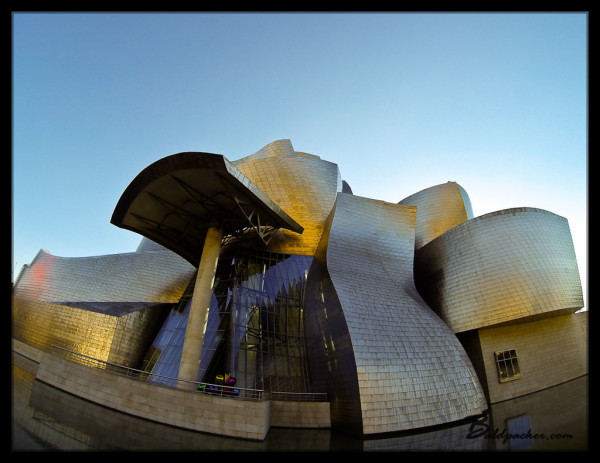 Guggenheim Museum in the Afternoon Sun, Bilbao