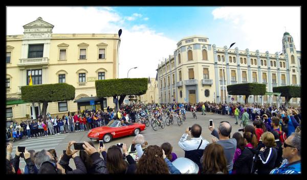 La Africana Mountain Bike Race in Plaza de Espana, Melilla
