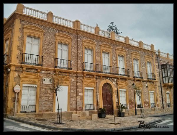 Building in Melilla la Vieja
