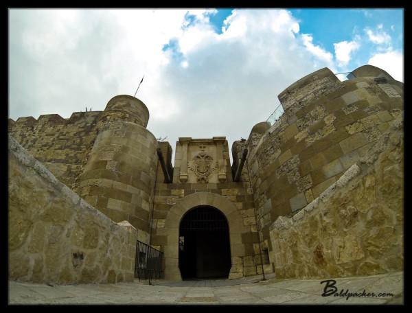Drawbridge, Melilla la Vieja Fortress