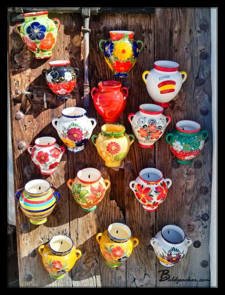 Pottery in Frigiliana