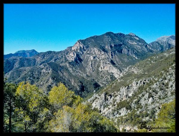 Views on Frigiliana to Nerja Hike