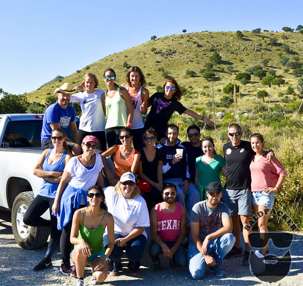 Our Inernational Camping Group, Guadalupe Mountains National Park