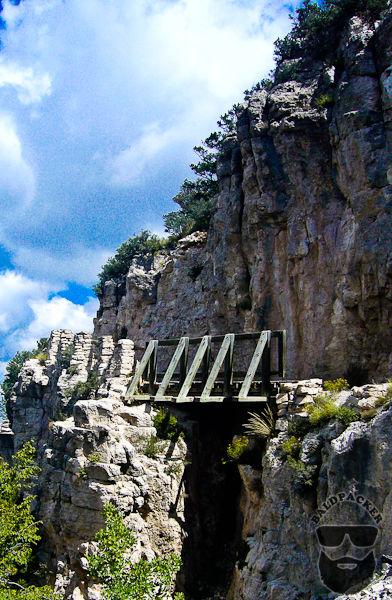 Guadalupe Peak Trail Bridge