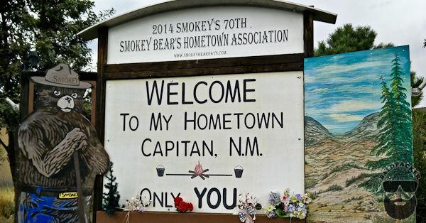 Capitan NM, Home of Smokey the Bear