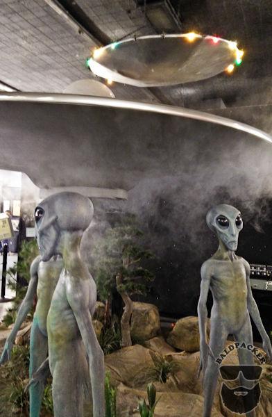 Flying Saucer, Aliens, Fog Machine - YES!