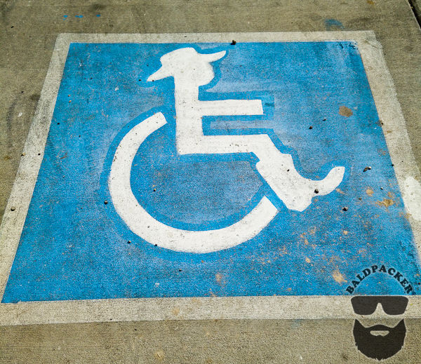 It Wouldn't be a Cowboy Cafe without Handicap Parking for Cowboys