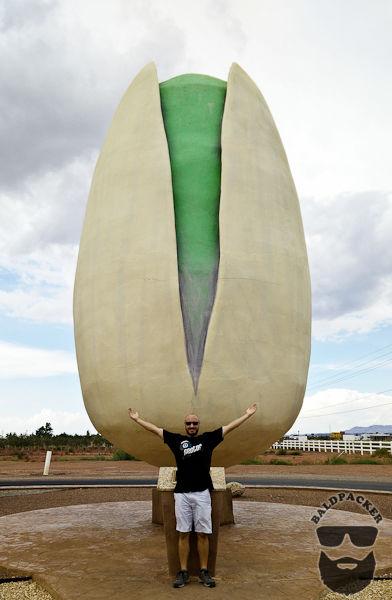 World's Largest Pistachio, Pistachioland, New Mexico