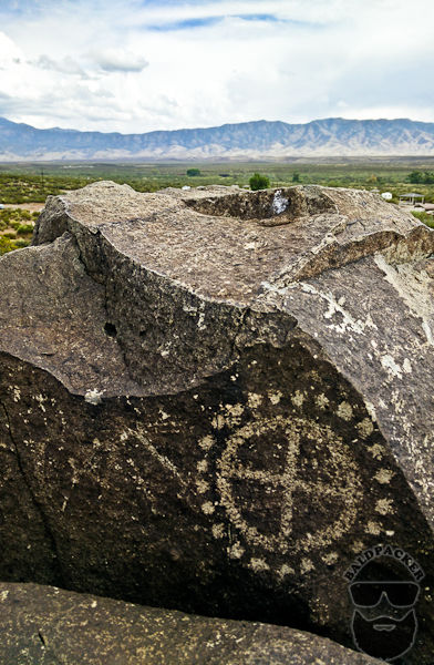 ~10% of Petroglyphs Are Circle Designs Like This