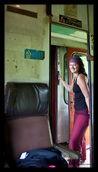 Train from Nuwara Eliya to Ella
