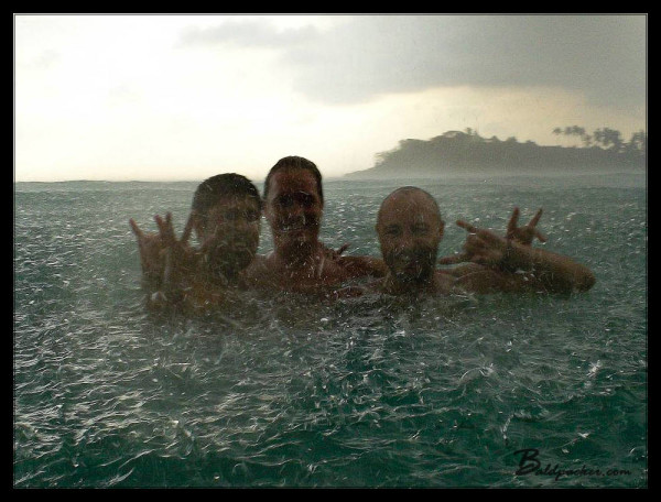 Camera Diving in a Downpour