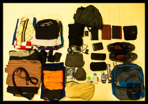 Around the World Packing Check List