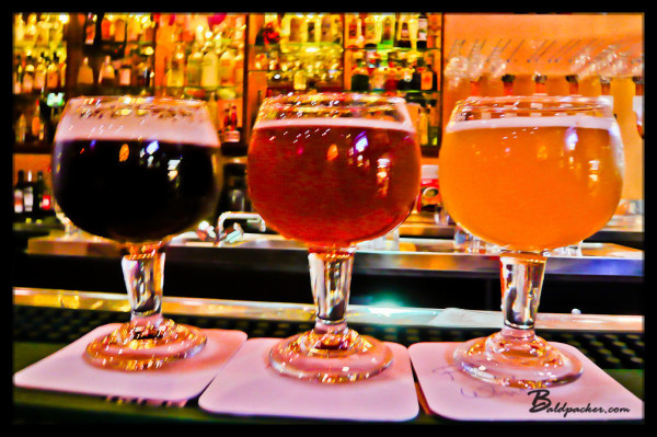 Colourful Belgian Beers