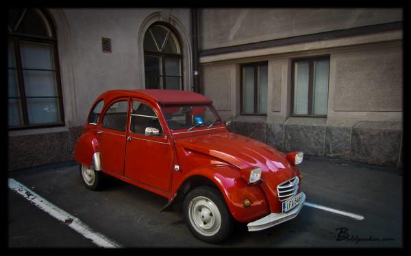 Car in Finland