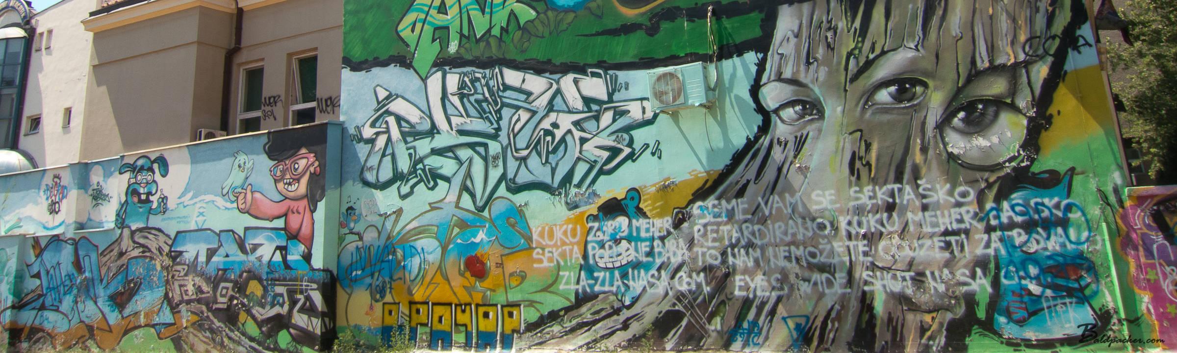 Belgrade Graffiti