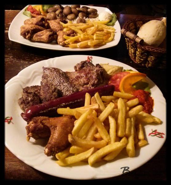 Bosnian Meat Platter