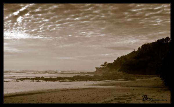 Beautiful Australian Beach Camp