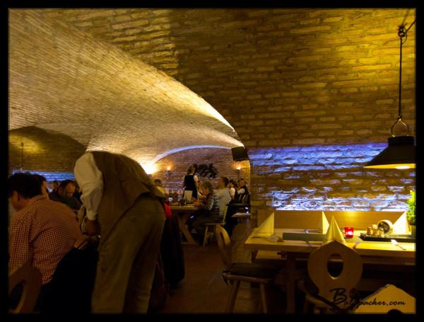 Inside Weihenstephaner Brewery Restaurant