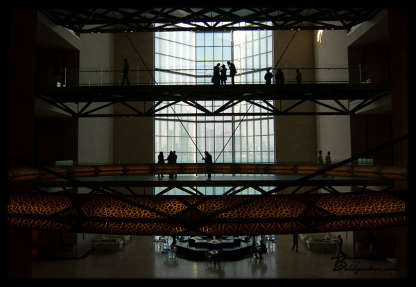 Interior of Museum of Islamic Art, Doha