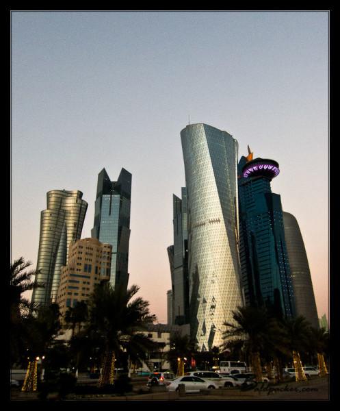 Doha's Amazing Skyscrapers