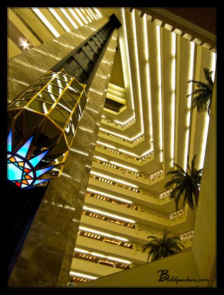 Interior of Sheraton Doha