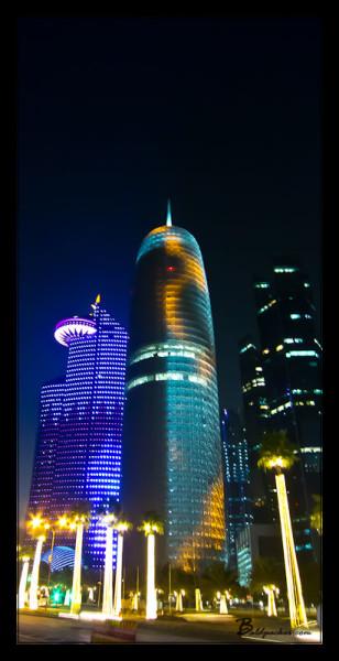 Burj Qatar at Night