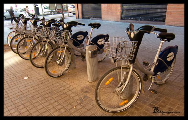 Valencia's Public Bike System