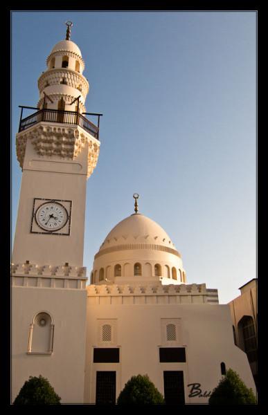 Bahrain Mosque & Clock Tower