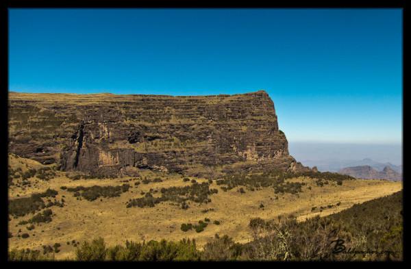 Simien Mountain Cliffs