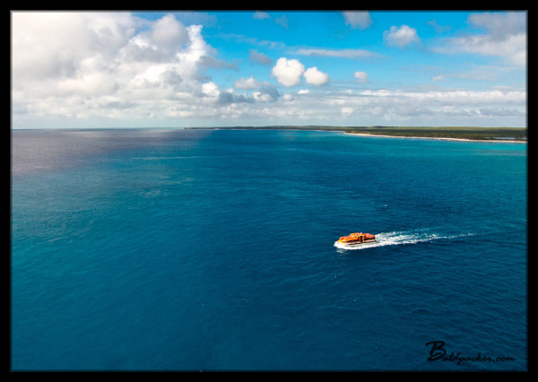 Tenders to Princess Cays