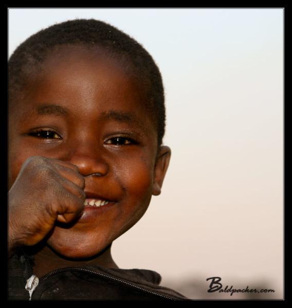 Cute Malawian Kid