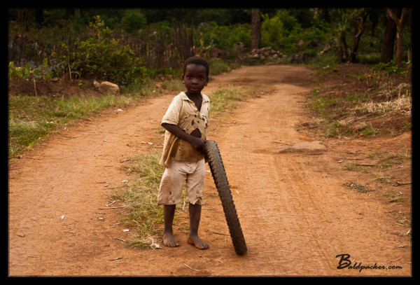 Bicycle Tire = Developing World Toy of Choice