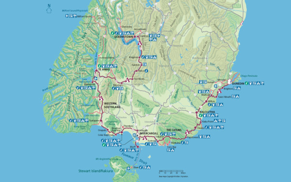 New Zealand: Southern Scenic Route & the Catlins – Baldpacker
